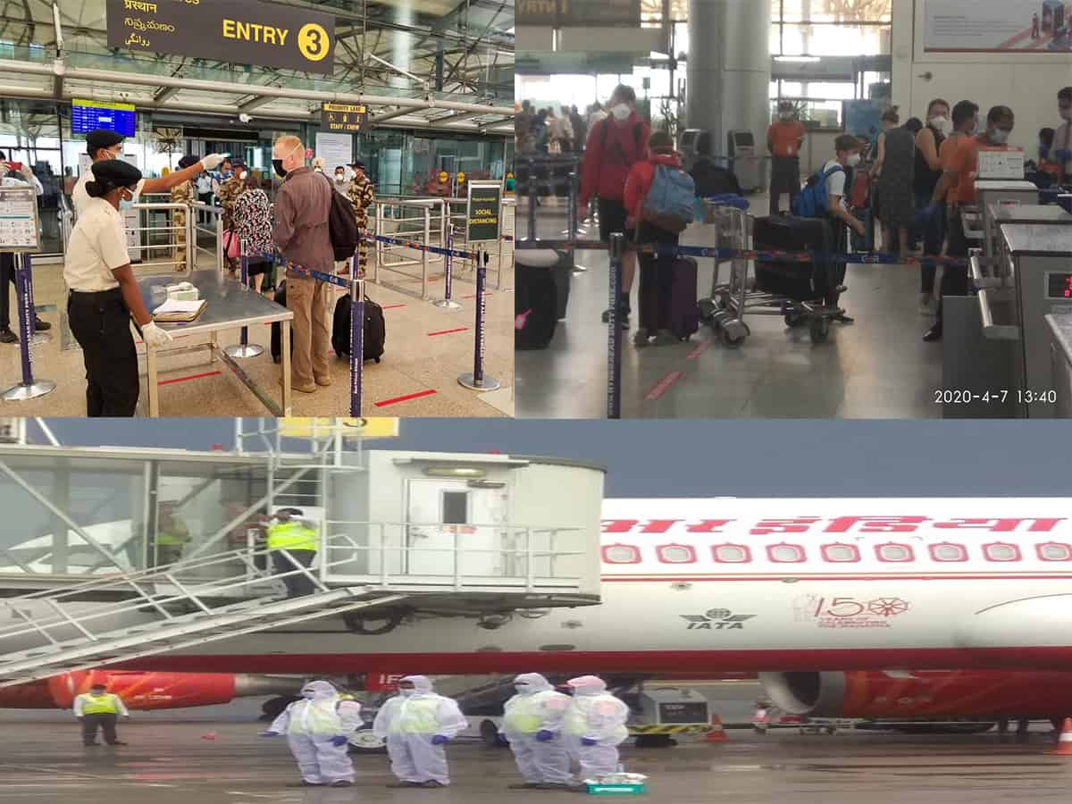 US nationals evacuated in special flight from Hyderabad