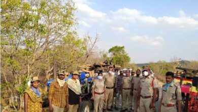 TS: Illegal timber seized Karepally