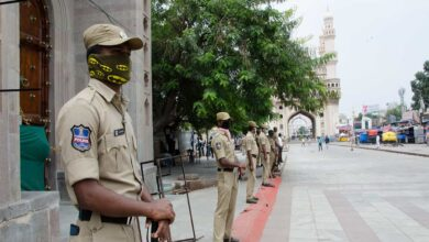 Photo of Hyderabad: Elaborate security arrangement in Old City on Friday