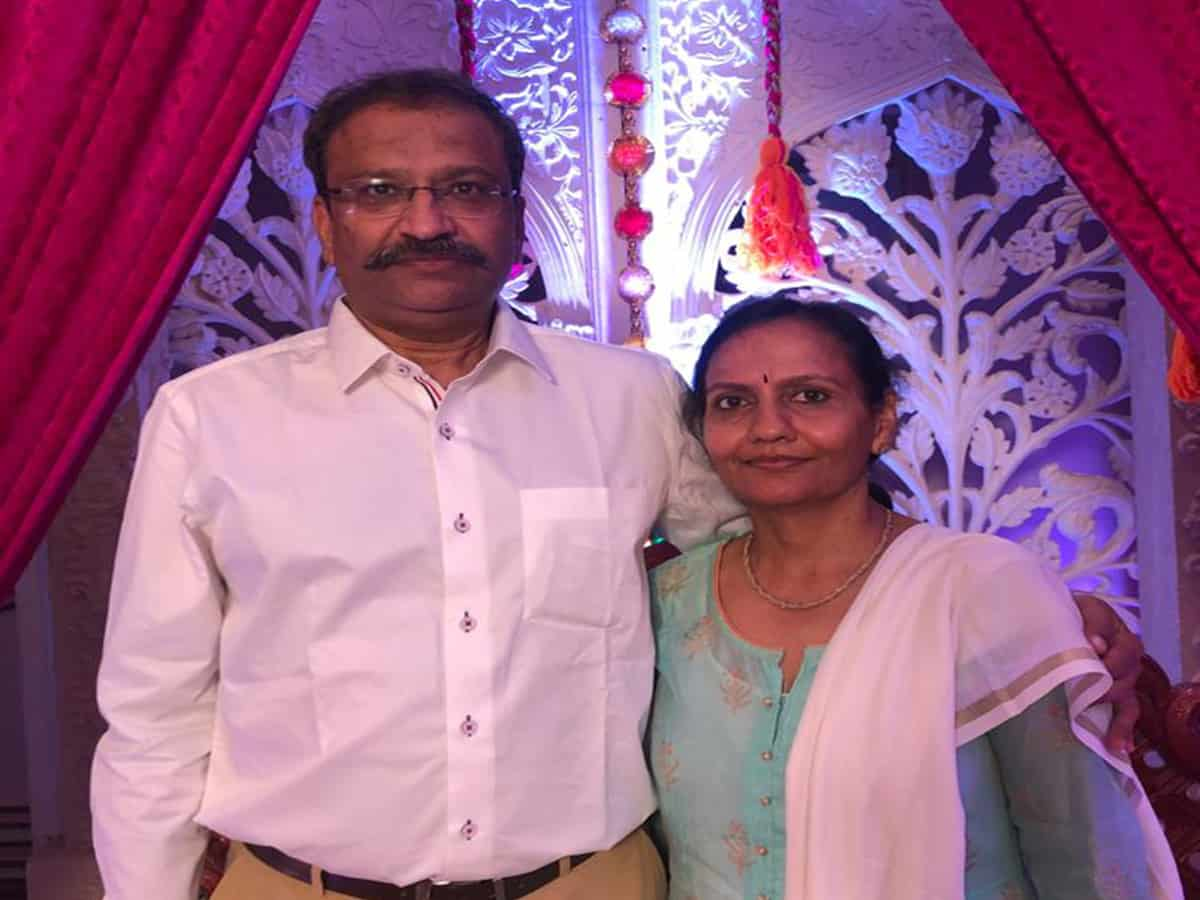 Doctor couple of KIMS donate 10 lakhs towards purchase of PPE