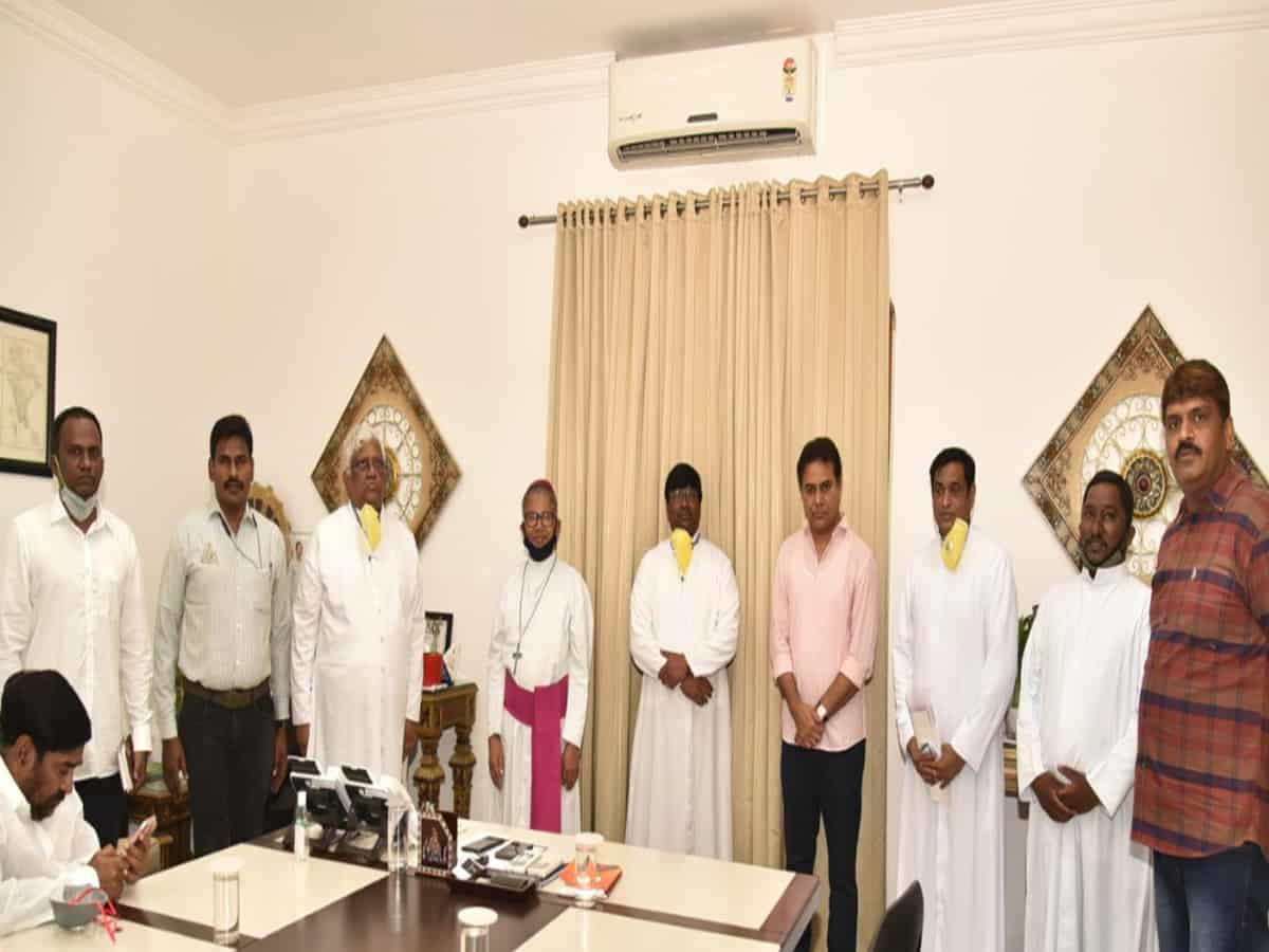 Combating COVID: Industrialists pouring in for TS CM Relief Fund