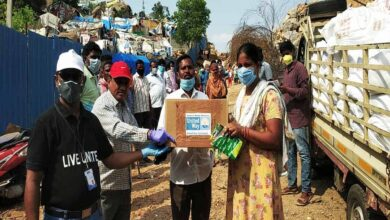 Photo of Hyderabad's COVID-19 relief campaign supports 50,000 needy