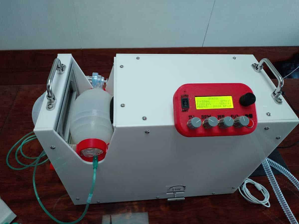UoH alumni part of team that develops Low Cost Ventilator