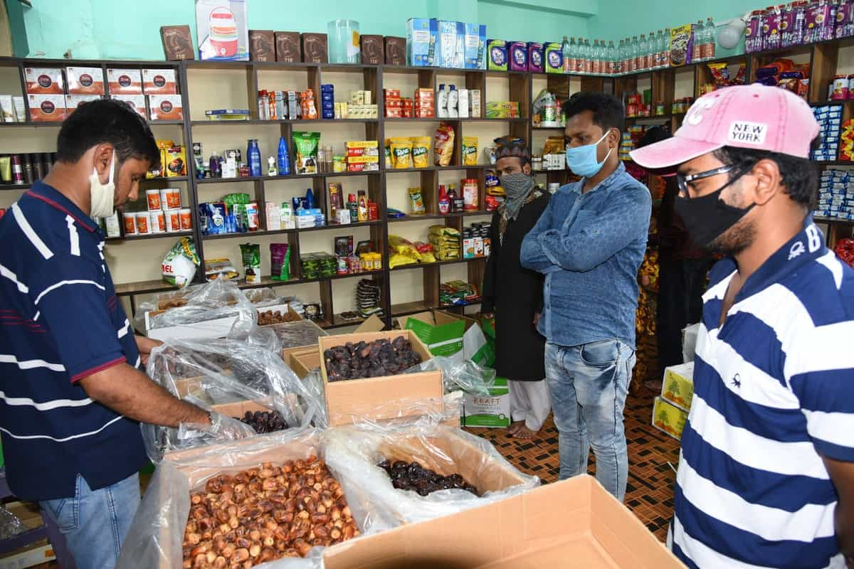 Ahead of Ramadan people purchasing dates in Hyderabad