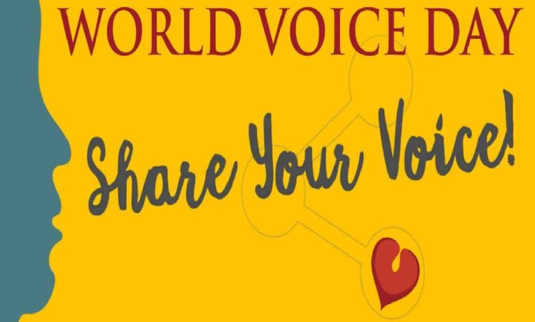 World Voice Day 16 April: All about voice disorders