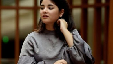 Photo of Zaira Wasim shares post 'how Muslims can be productive with time'