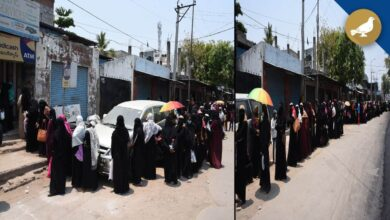Photo of Hyderabad: Long queues for 1500 Rupees