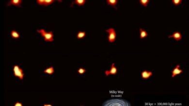 Photo of Rotating galaxies galore revealed in infant universe