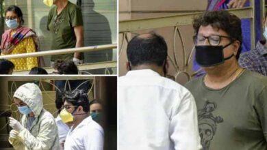 Photo of Irrfan Khan laid to rest at Mumbai's Versova burial ground