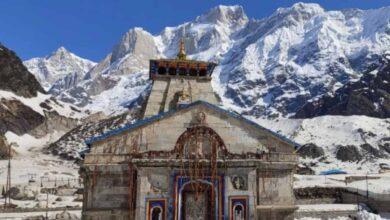 Photo of Kedarnath temple open; first puja performed on behalf: PM Modi