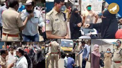 Photo of Hyderabad: Police crackdown during lockdown-II