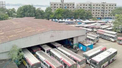 Photo of Lock down impacts TSRTC operations