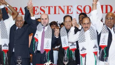 Photo of Indo Arab League extends help to Palestine