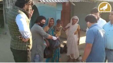Photo of Lockdown Heroes: YuvaSangathan Kishanganj distribute ration kits