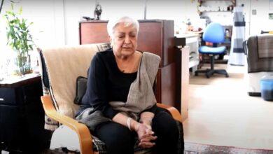 Photo of Artist Zarina Hashmi passes away in London