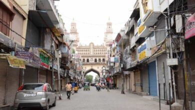 Photo of Odd-even system started by GHMC leads Charminar shops closed