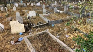 Photo of Denied a burial place in cemetery, man buried in cremation ground