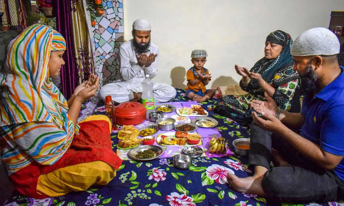 Ramadan Rituals Amid Lockdown