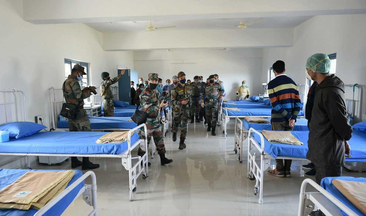 Coronavirus: Health-care centre in Rangreth