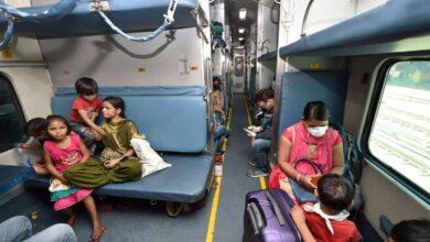 Photos: Passenger train services resume