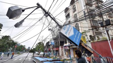 Photo of Amphan: 85 deaths; protests over electricity, water supply