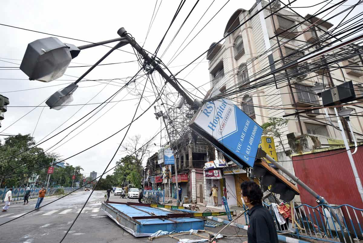 Amphan: 85 deaths; protests over electricity, water supply