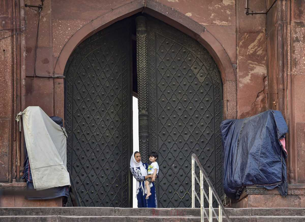 Lockdown: Juma-tul-Wida in Delhi