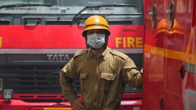 Photo of Fire at commercial building in Mumbai; no casualty