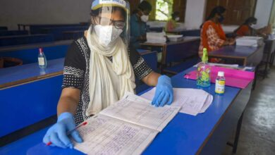 Photo of Photos: Exams in India amid Lockdown
