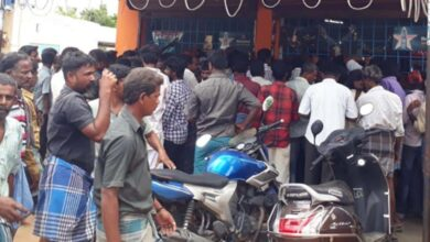 Photo of Huge crowd at liquor shops; CM warns to withdraw relaxations