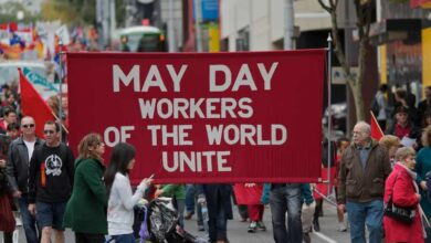 Photo of May Day marks pain, not celebration for workers hit by virus