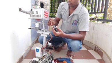 Photo of Robots to crackdown on lockdown violators  in Varanasi