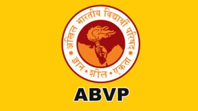 Photo of ABVP submits memo on examination modes to DU VC