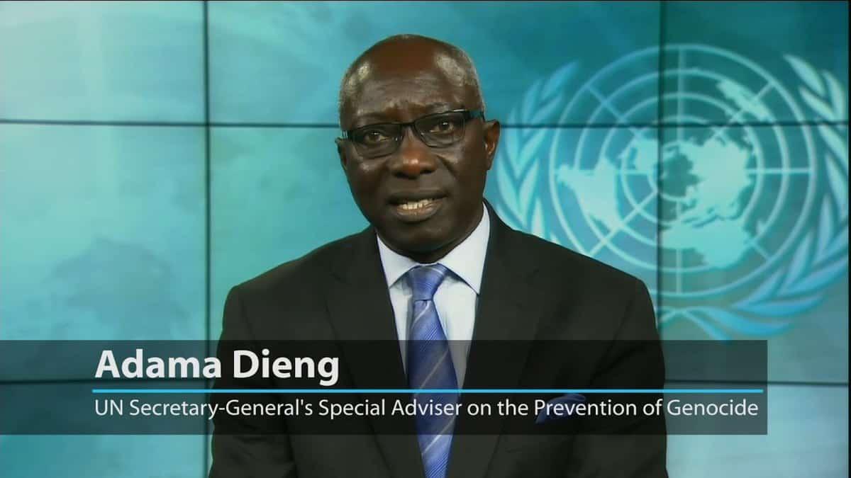 Under-Secretary-General Adama Dieng