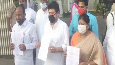 Photo of Hyderabad: BJP leaders demand arrest of AIMIM Malakpet MLA
