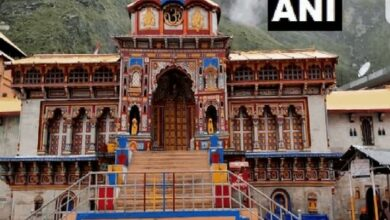 Photo of Portals of Badrinath thrown open