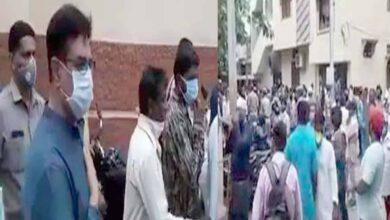 Photo of MIM MLA faces protest during visit to Dalit rape victim's place