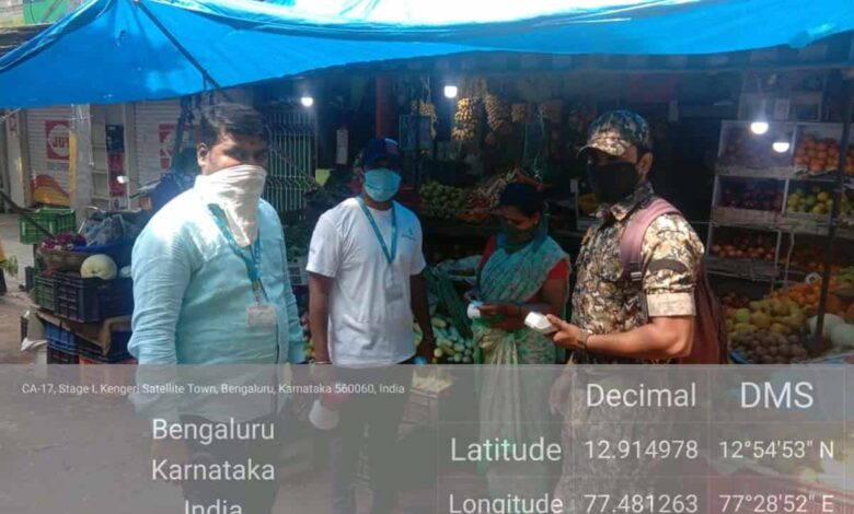 Bengaluru civic body fines maskless people Rs 51,700