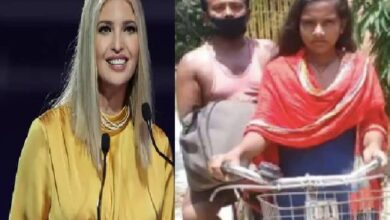 Photo of Bihar girl cycling 1,200 km with father impresses Ivanka Trump
