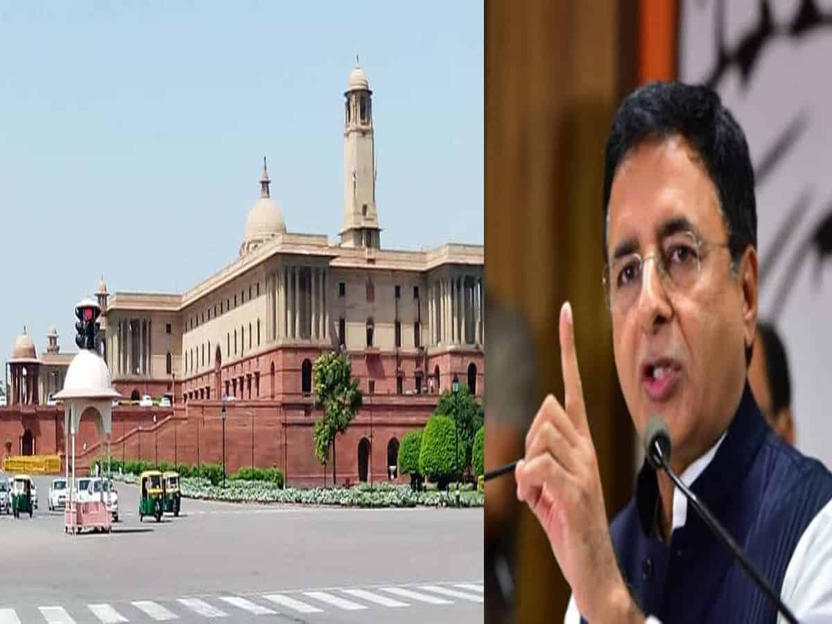 Congress attacks govt on Central Vista project