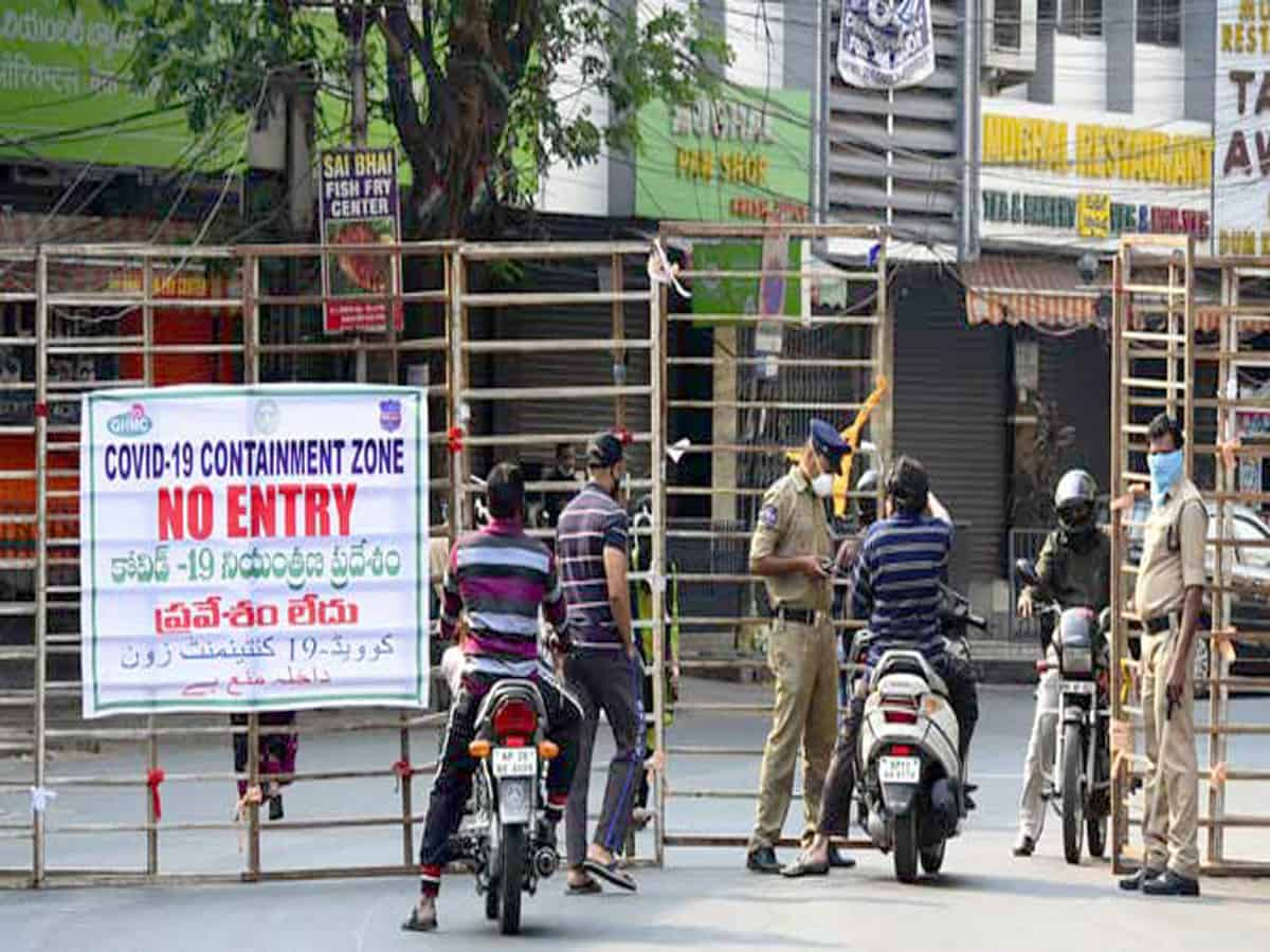 Full list of Containment Zones in Hyderabad | Hyderabad City News