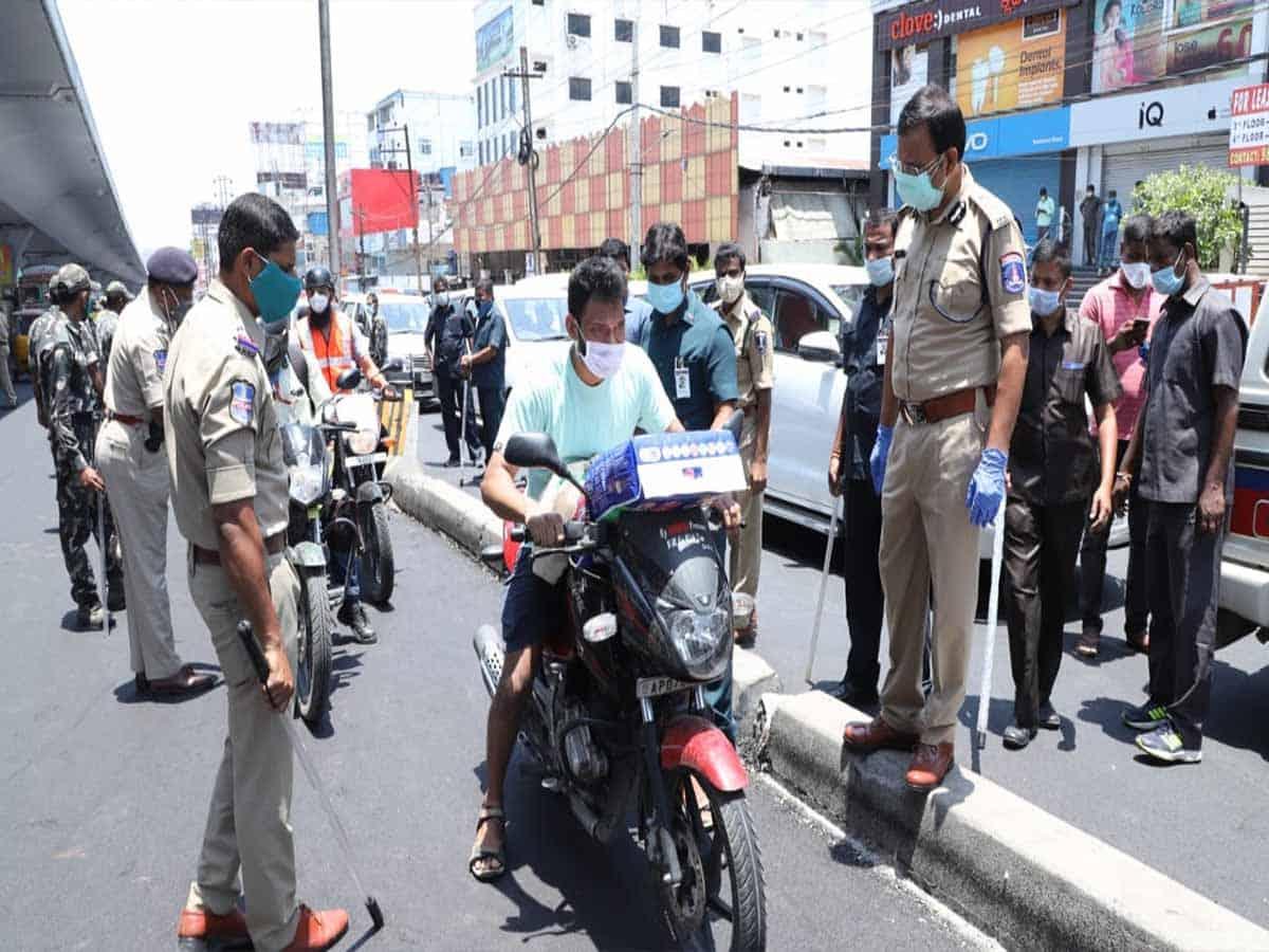 Cops to go tough against lockdown 4 violators