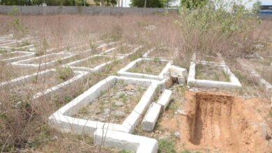 Photo of Area around Dargah Faqeer Mullah earmarked for burial of corona victims