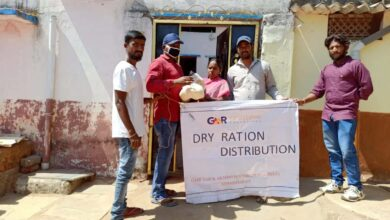 Photo of Hyderabad airport distributes dry ration kits to needy