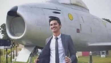 Photo of First Hindu pilot in Pakistan Air Force