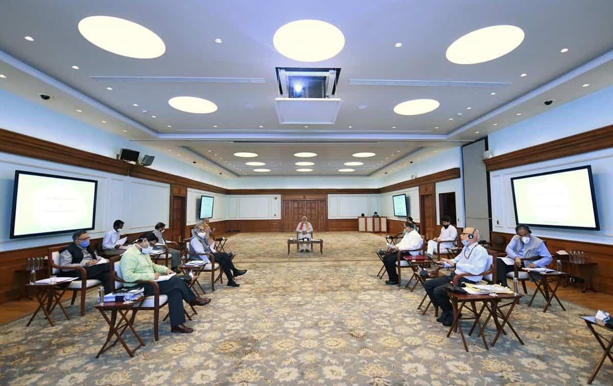 meeting to discuss agriculture sector