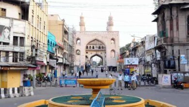 Photo of Eid shopping hit by lockdown in Hyderabad