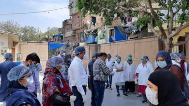 Photo of Help for vulnerable families of Basti Hazrat Nizamuddin