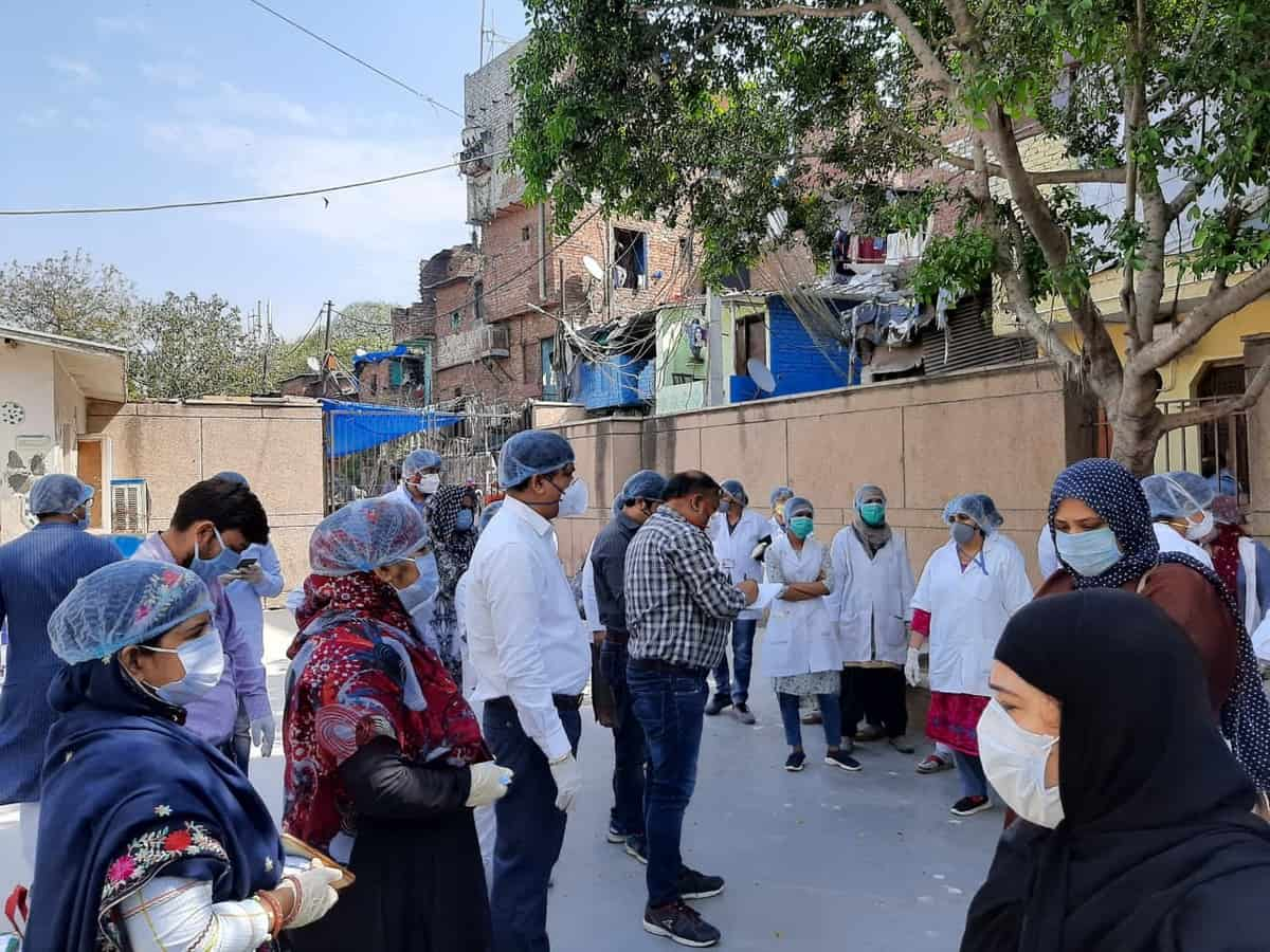 Help for vulnerable families of Basti Hazrat Nizamuddin