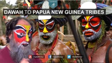 Photo of Tribe in Papua New Guinea accepts Islam
